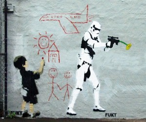 Star Wars - Stormtrooper - Street Art