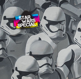 Two days  to go before Star Wars VII – Today's special : Stormtroopers