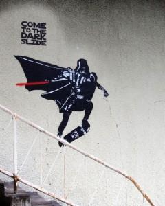 Star Wars - Darth Vader Street Art