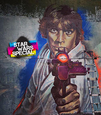 Three days  to go before Star Wars VII – Today's special : Luke & Leia