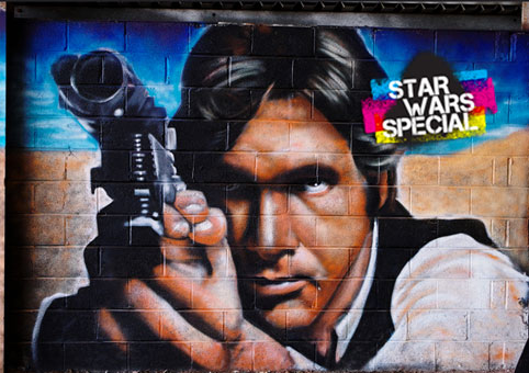 One day  to go before Star Wars VII – Today's special : Han Solo, Ewoks, X-wings and more.