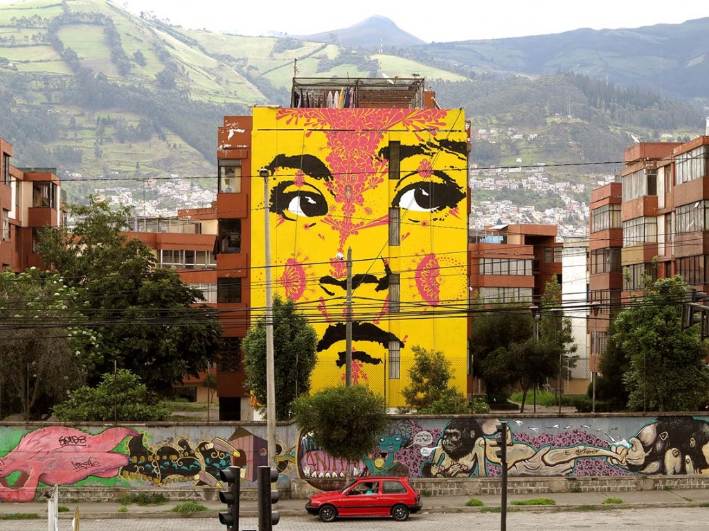 Stinkfish new wall in Quito – Ecuador