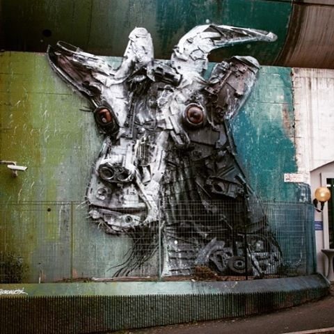 """UMA CABRA"" … at Saint Peter: Bordalo II"