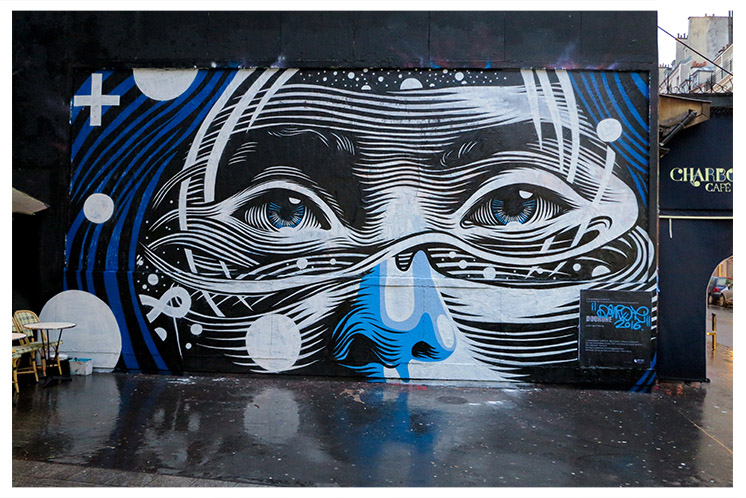 DOURONE paints LE MUR in Paris