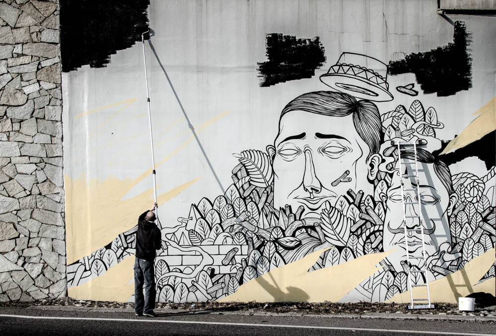 New wall by SeaCreative in N. Italy