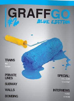 "GraffGo Magazine ""Blue edition"""