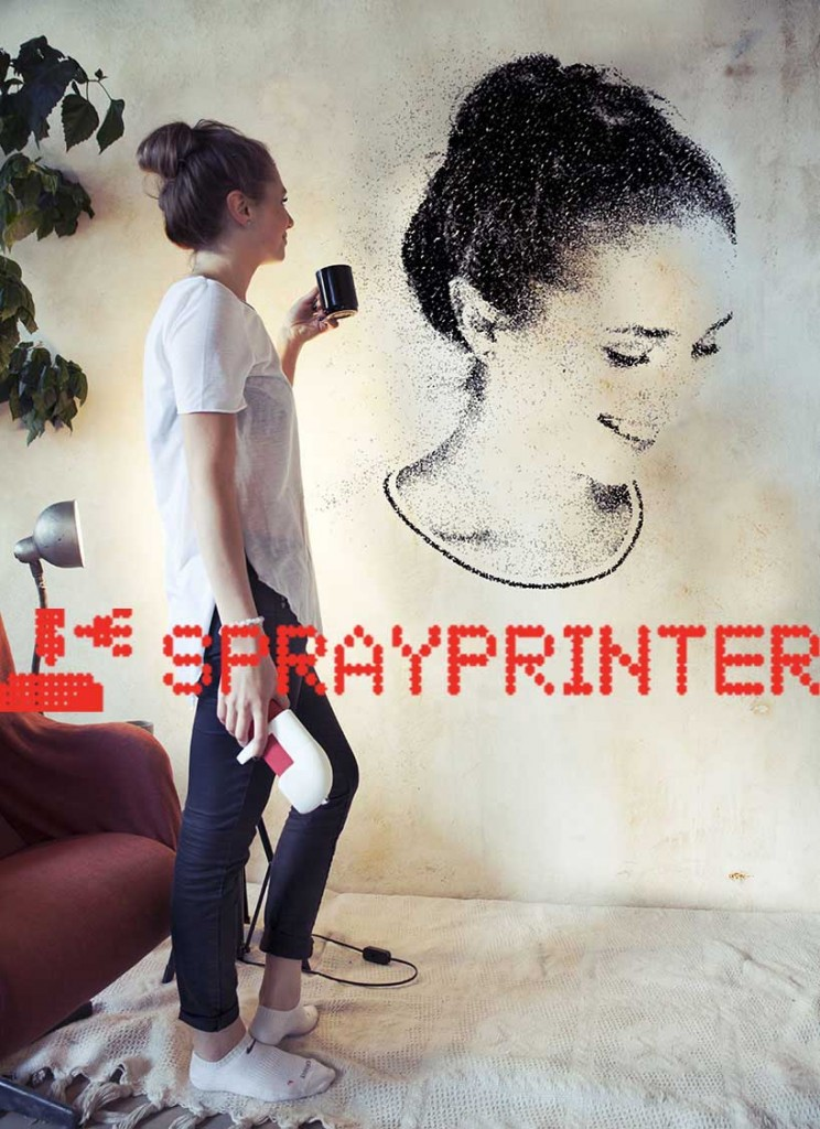 SprayPrinter – The future is here