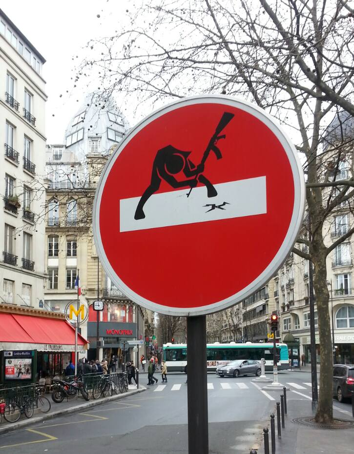 Clet - Paris