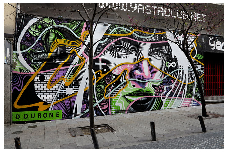 NEW DOURONE MURAL IN MADRID