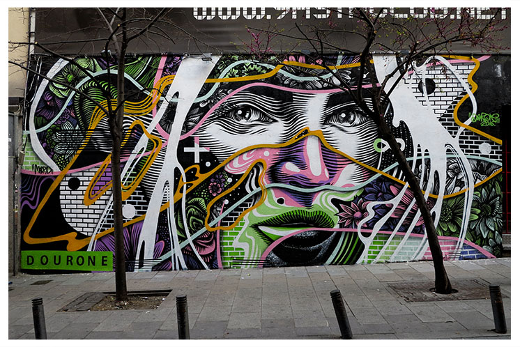 Dourone in Madrid, Spain