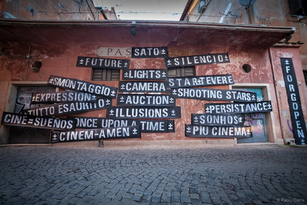 ±MAISMENOS± in Rome, on forgotten cinemas