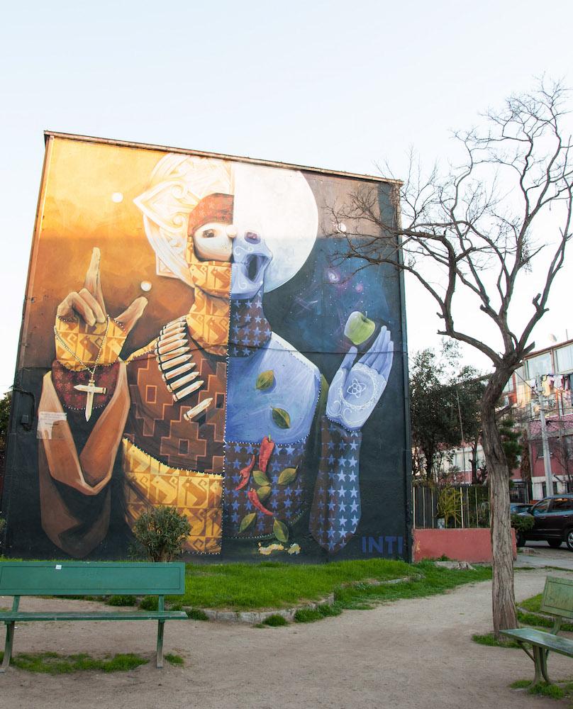 Open Air Museum in Santiago de Chile (1)
