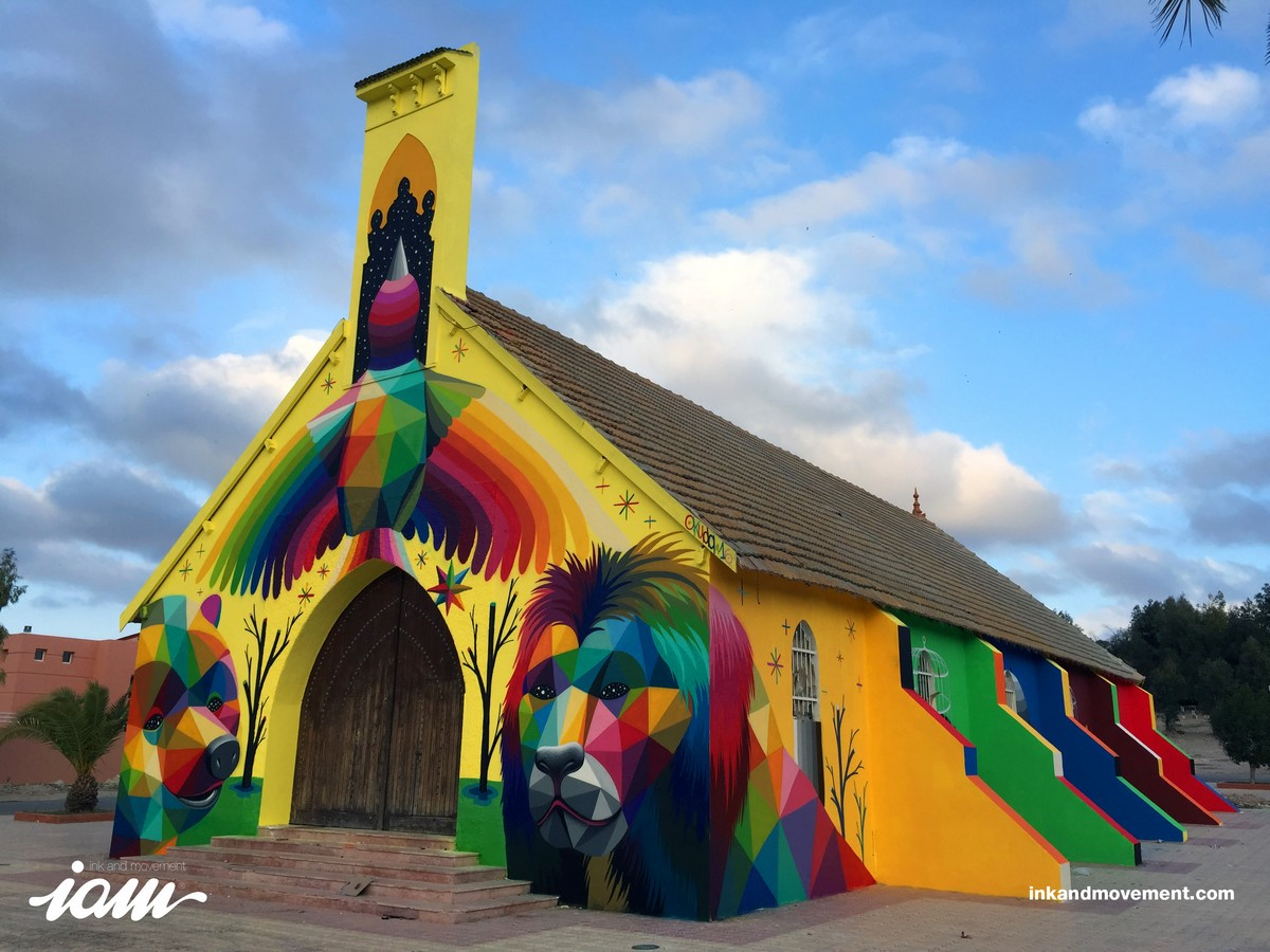 Okuda church in Marroco