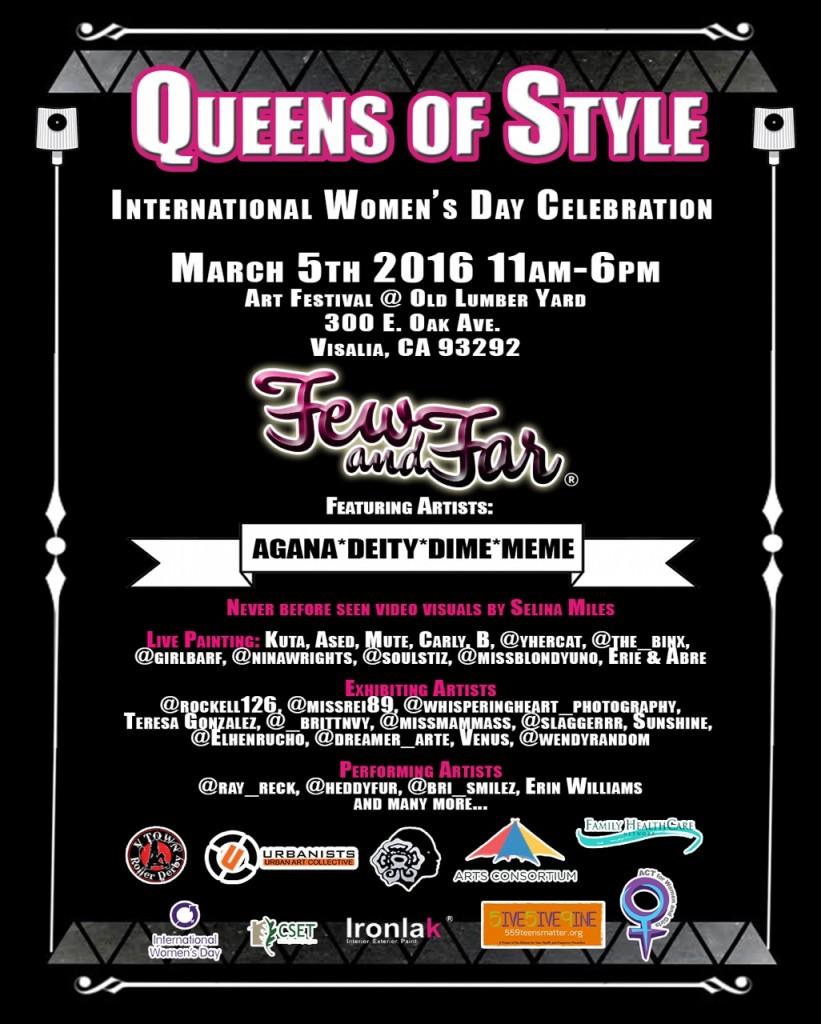 Queens of Style  Street Art event.California/EE.UU.