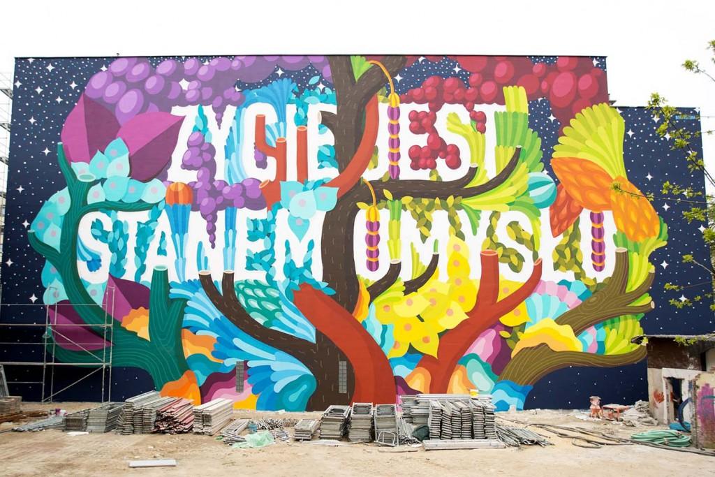 BOA MISTURA | Lodz Mural
