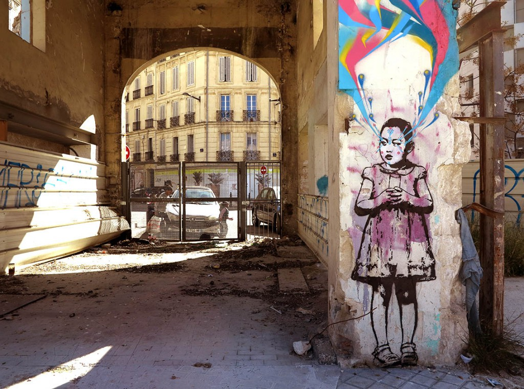 StinkFish creates in Marseille