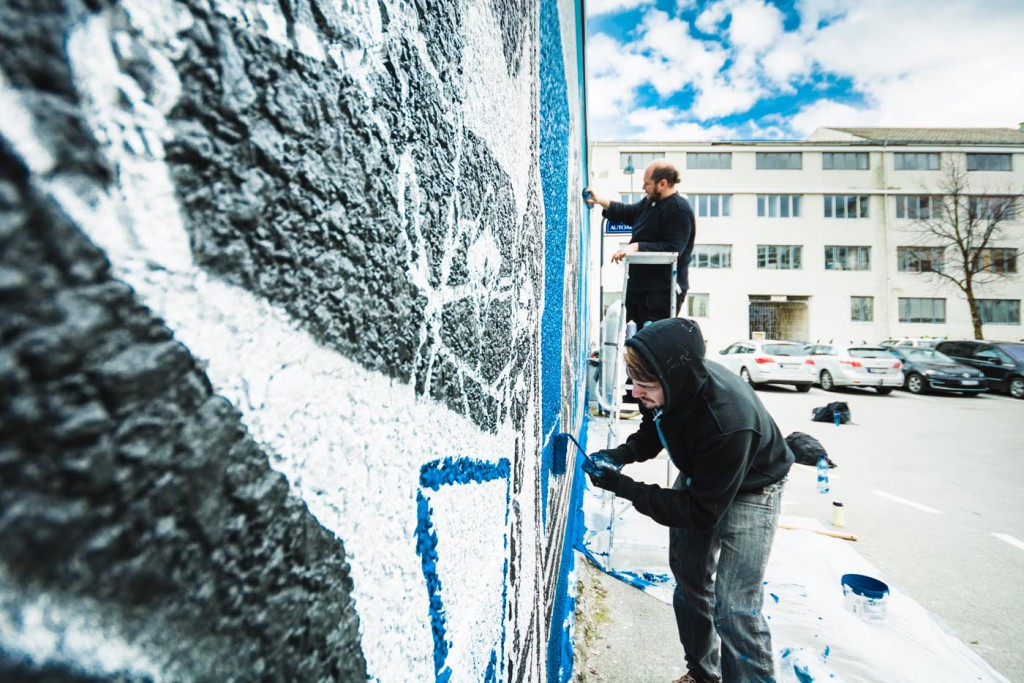 Norway's first official Street Art Trail