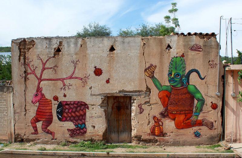 Lelo Art in Puebla Mexico