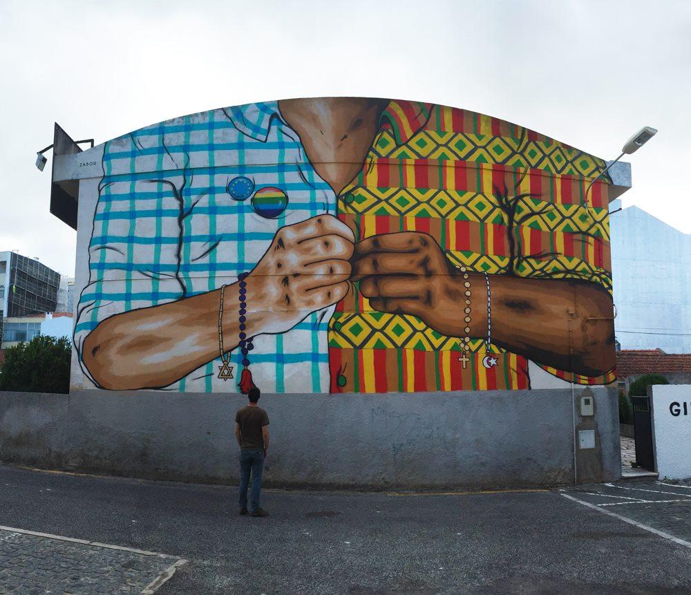 Zabou in Lisbon