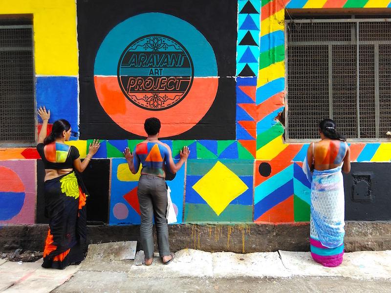 Aravani Art Project in India