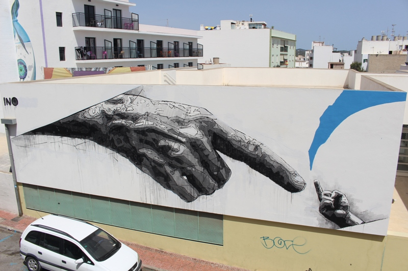 iNO for BLOOP in Ibiza, Spain