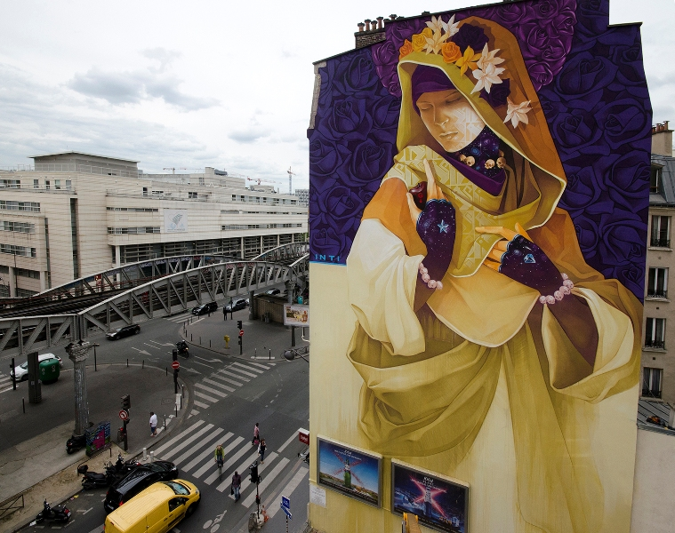 INTI – New Mural in Paris