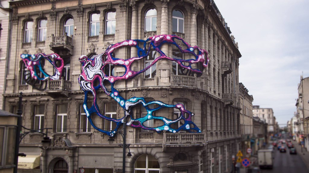 Hyperbolic creation in Lodz by Crystal Wagner