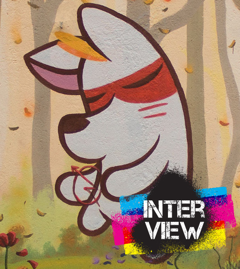 Dingoperromudo – a dog, dreams and street art.