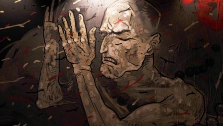 Aleix Gordo Hostau mural in Guzzo
