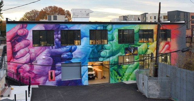 The 3 latest Gaia murals