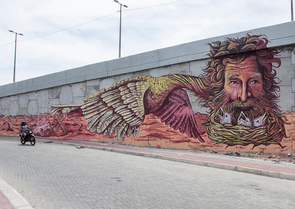 Dinho Bento in Fortaleza, Brazil