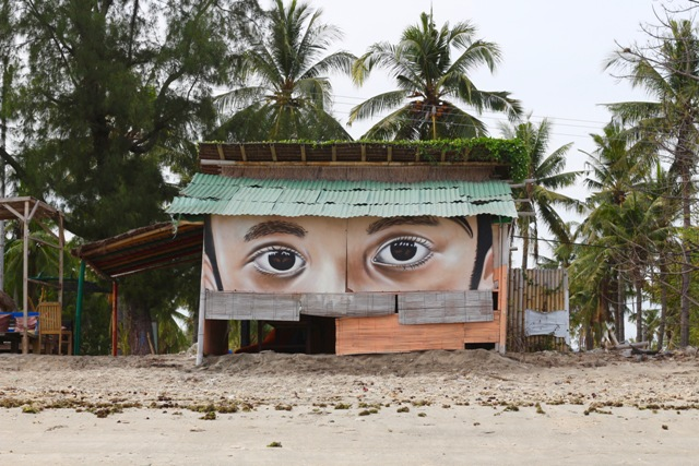 Kas Art in Gili island, Bali