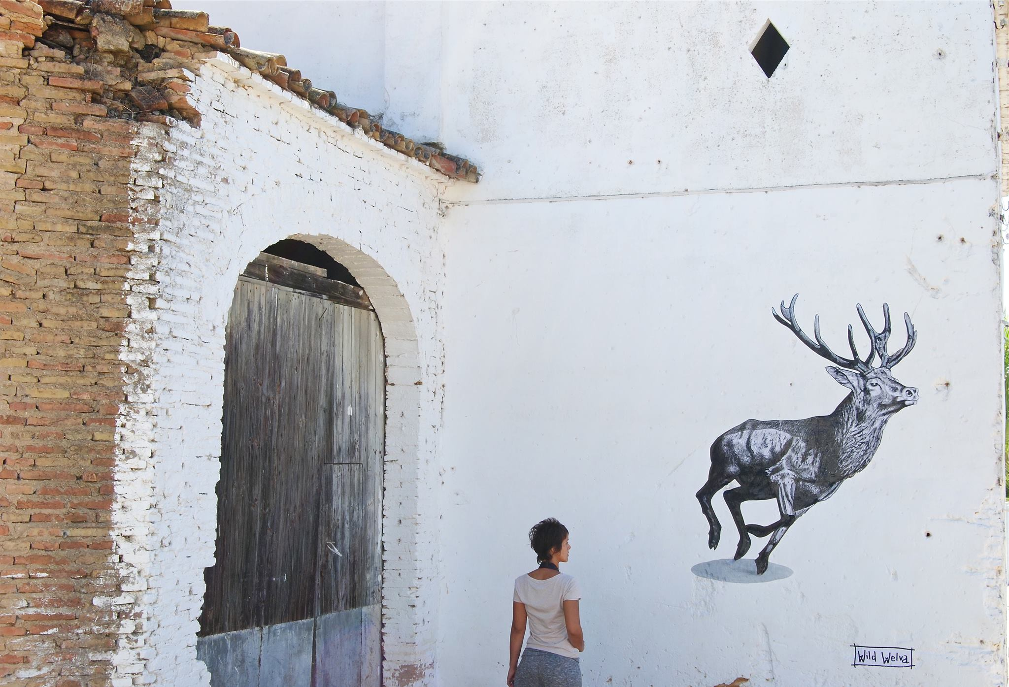Wils Welva in Bonares, Spain
