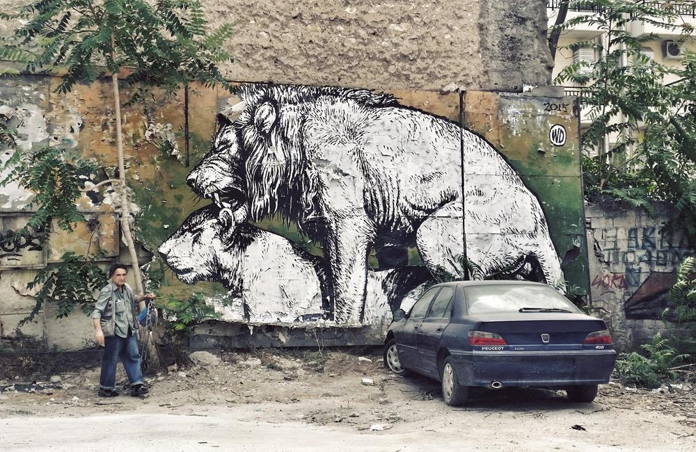 "Discovering street art in Athens, ""The new Berlin"""