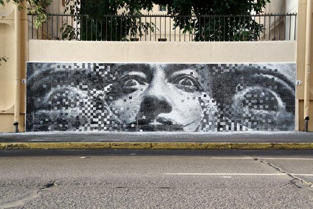 Pixel Art in Buenos Aires, Argentina