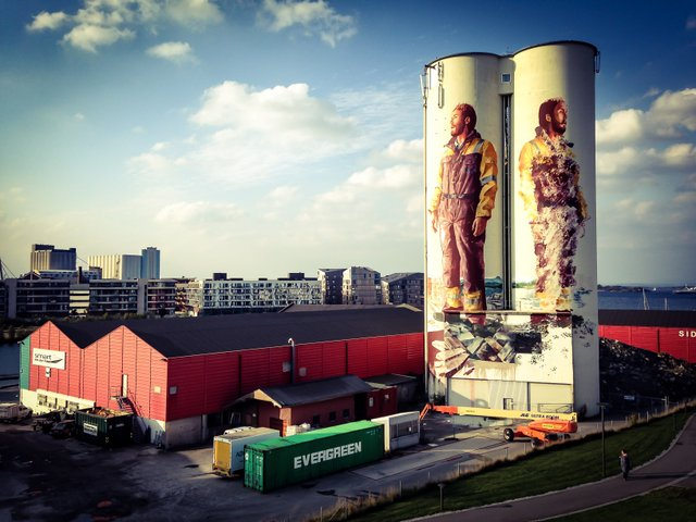 Fintan Magee in Stavanger, Norway for Nuart festival 2016