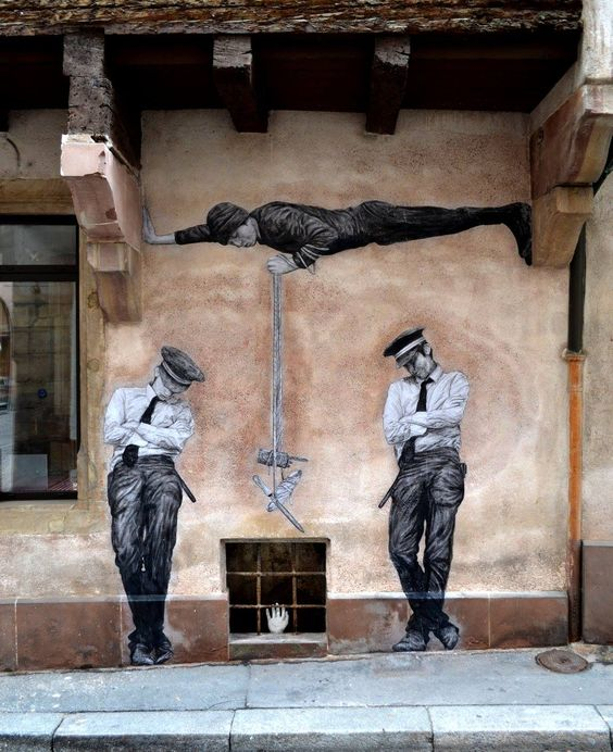 Levalet in Strasbourg, France.