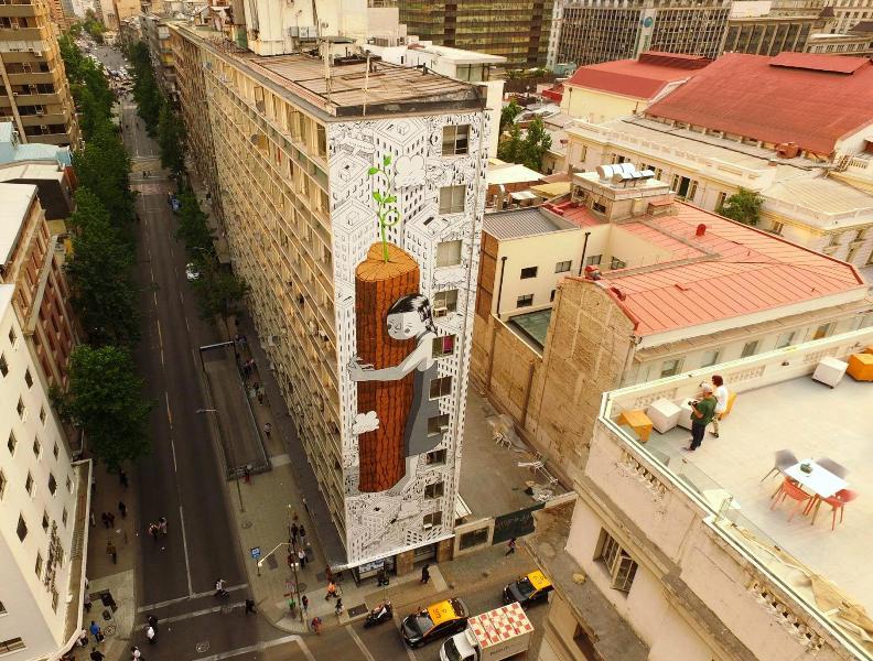 Millo in Santiago, Chile Pic: Gonzalo Zuniga, Fotosaereas