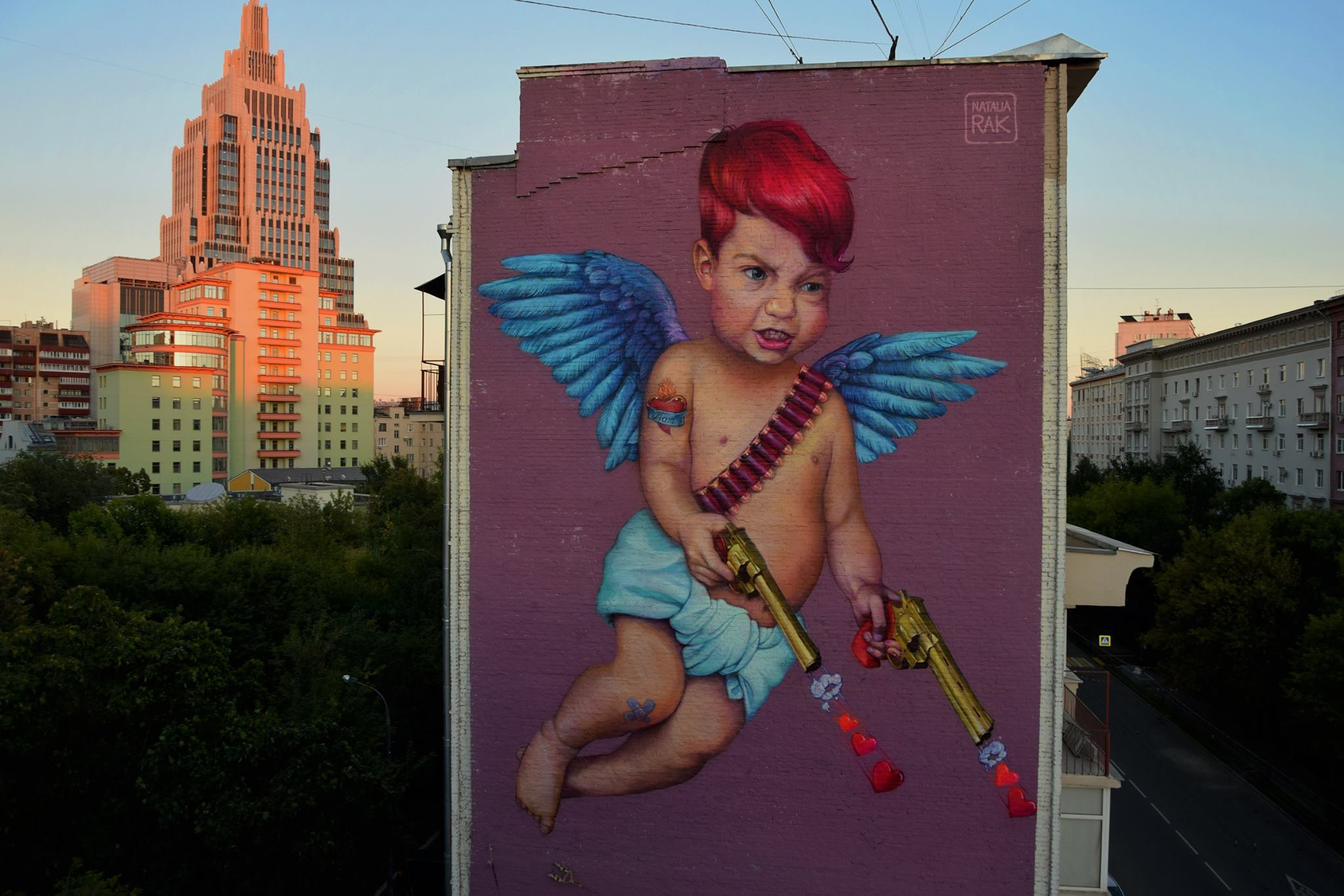 Natalia Rak in Moscow, RS