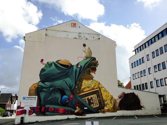 Top 10 walls to see in Stavanger (Norway)
