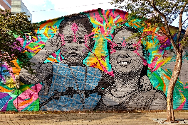 Empty Boy + Stinkfish New wall in Medellín – Colombia