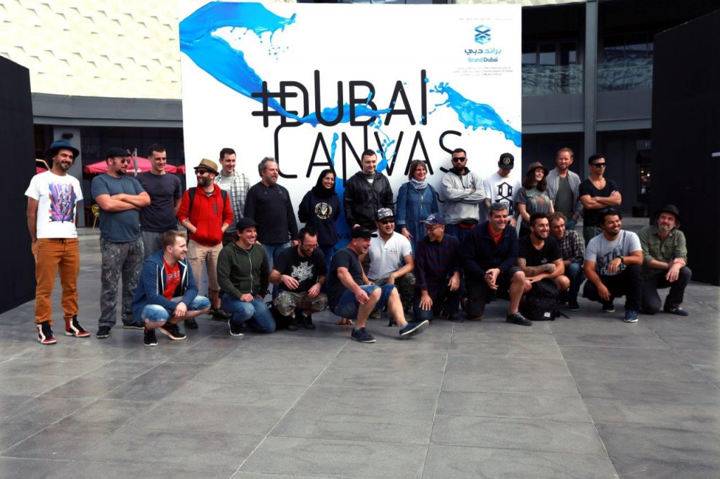 Public invited to watch 3D artists creating for Dubai Canvas 3D Art Festival