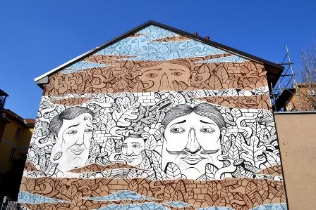 New mural by Seacreative in Milan