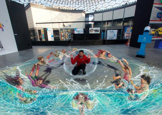 Winners of Dubai Canvas 3D Art Award announced