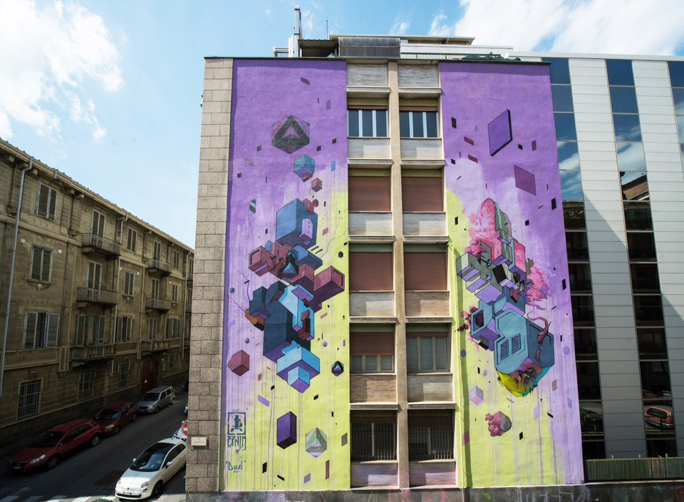 ETNIK`S Latest work in Turin