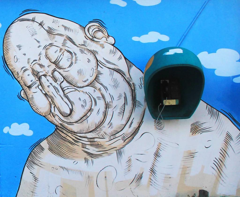 Luca Ledda 2 walls in Brasil
