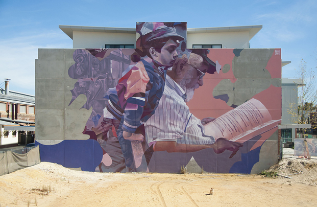 New wall by TelmoMiel for Midland (AU)