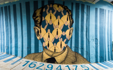 Polite BastArt wall on H. Marcuse