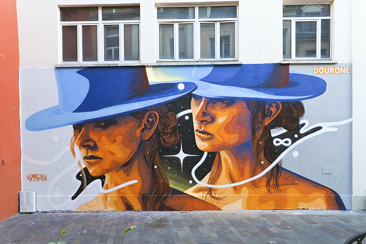 DOURONE AT LE MUR MULHOUSE IN FRANCE