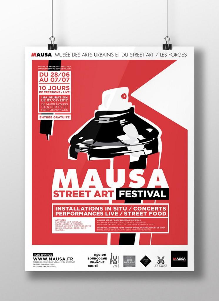 MAUSA Street Art Festival (FRANCE-39-)